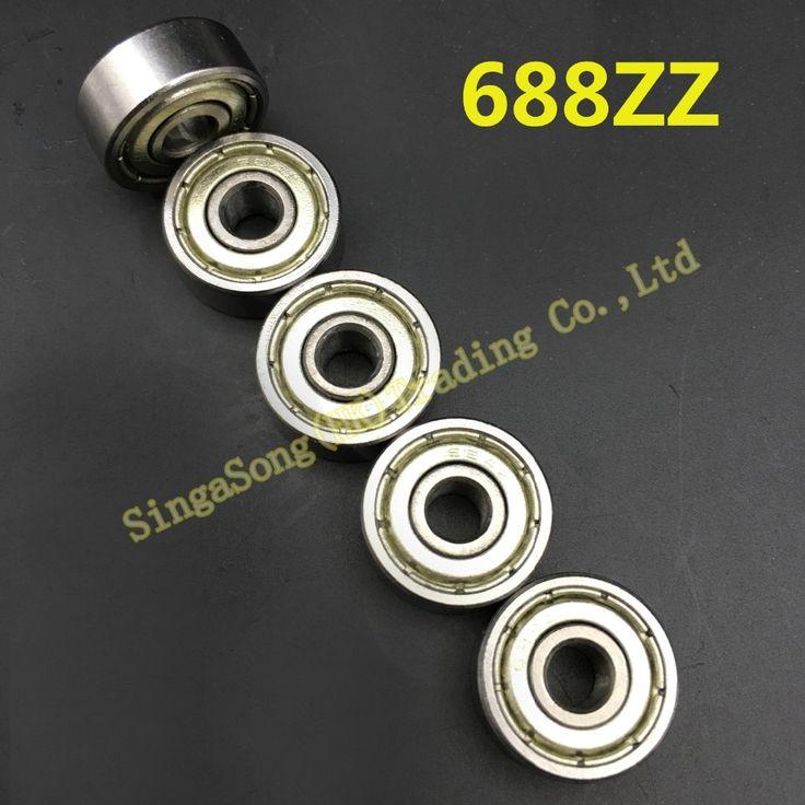 20pcs 688ZZ 16mmx8mmx5mm Metal Shielded Deep Groove Ball Bearing 688ZZ for 3d printer #women, #men, #hats, #watches, #belts, #fashion