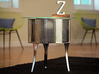 Manualidades y Artesanías | Mesa de noche con tambor de lavadora | Utilisima.com
