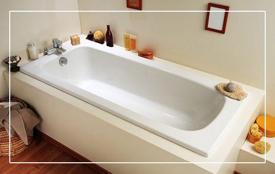 Une baignoire droite en toplex flavis pour vous accorder for Comment enlever une baignoire
