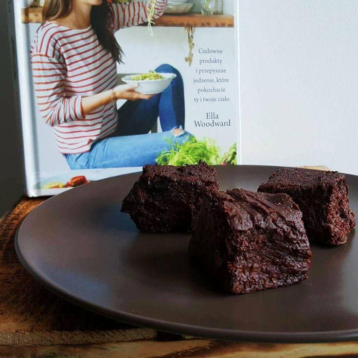 Brownie z batatów - przepis na agataberry.pl :-)#pycha #brownie #kakao #bataty #miód #orzechy #ciasto #deser #sweetpotatoes #delicious #sweet
