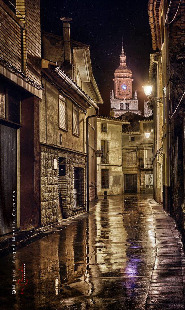 Night in Calamocha - Teruel, Spain