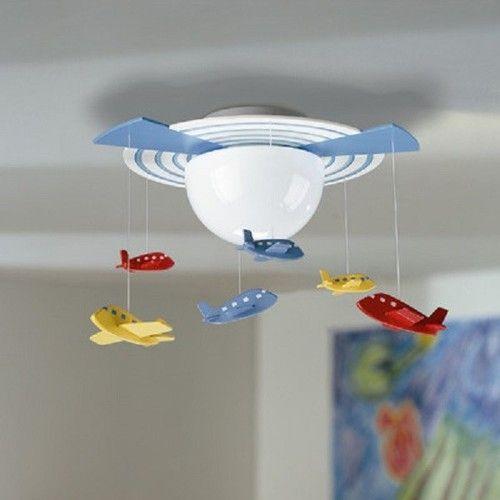 Brand New Philips Consumer Luminaire Kidsplace 1 Light Airplane Ceiling Lamp 67 Free Ship
