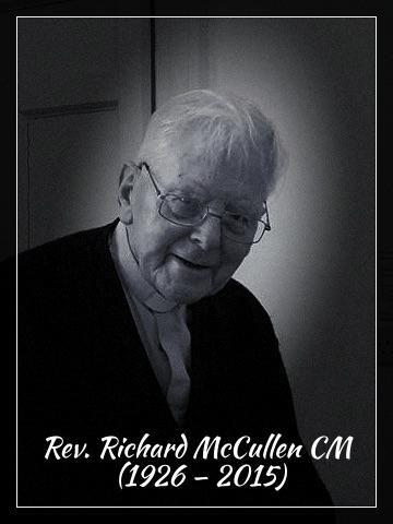 REV. RICHARD MCCULLEN CM (Province of Irelan), 89, former Superior General died December 24, 2015 #RIP @VinFamily