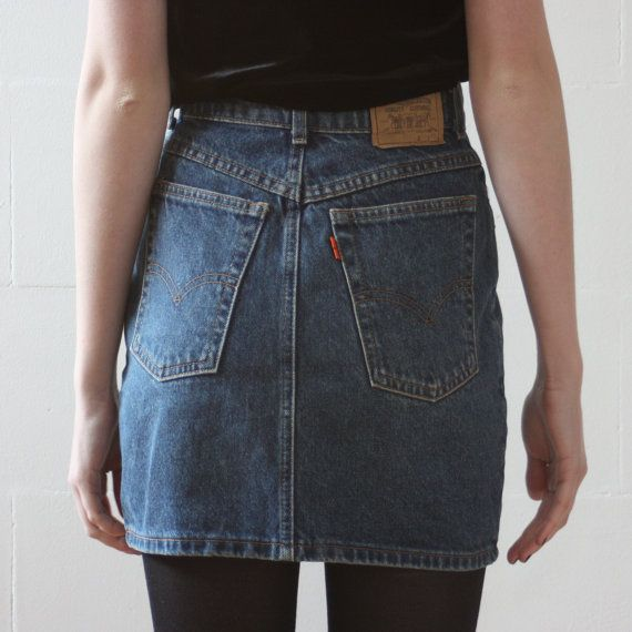 Denim mini skirt levis – Fashionable skirts 2017 photo blog