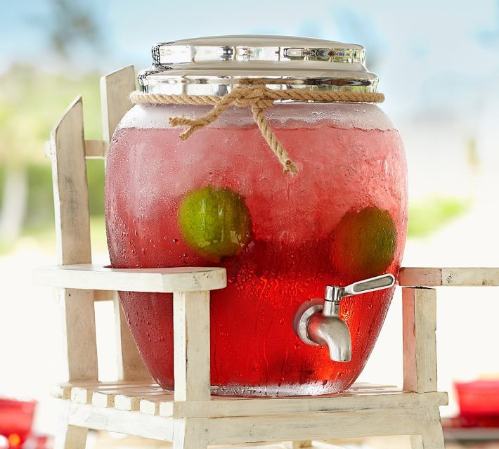 1000 Images About Drink Dispenser Recipes On Pinterest: 1000+ Images About Glass Beverage Dispenser With Spigot On