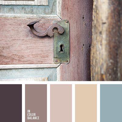Цветовая палитра №2536 бежевый, бледный розовый, голубой, коричневый, кофейный, лиловый цвет, оттенки лилового, оттенки розового, пастельный синий, подбор цвета для дома, темно-лиловый, цветовое решение для дизайна.
