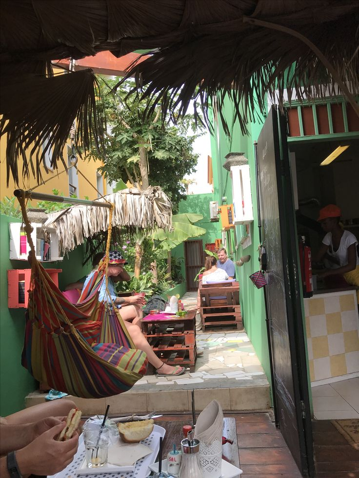 Cap Verde, Sal, Santa Maria, Cafe Cape Fruit
