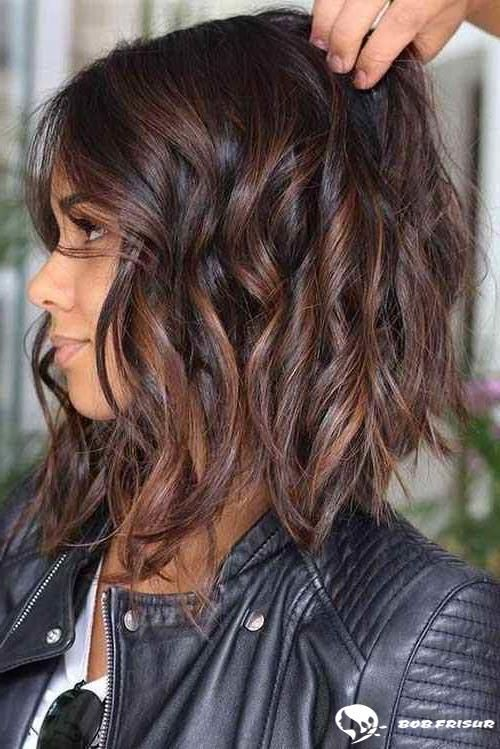 Lange Umgekehrte Bob Frisuren Fur Sie Bobfrisuren Fur Lange Sie Stufig Umgekehrte Inverted Bob Hairstyles Brunette Hair With Highlights Bobs Haircuts