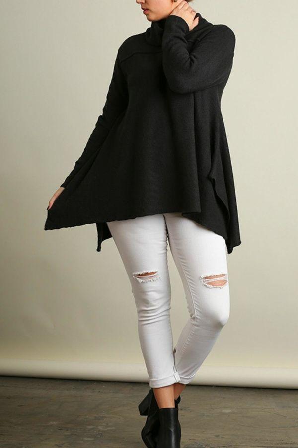 00baf25f69e Umgee USA A-Line Plus Sweater