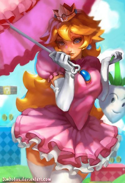 1038a1df167a802e9c808d9dda37615d.jpg (400×584) принцесса Пич Mario