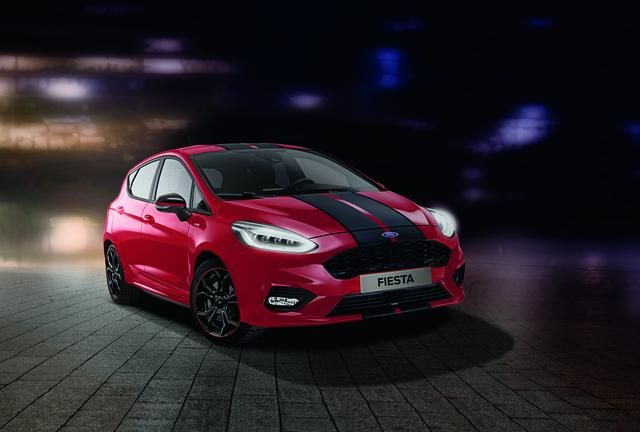 Ford Stlinerededition Stlineblackedition New Ford Fiesta St Line Red Edition And Black Edition Introduce Head Turning Contrast Colour Schemes What S Leggende