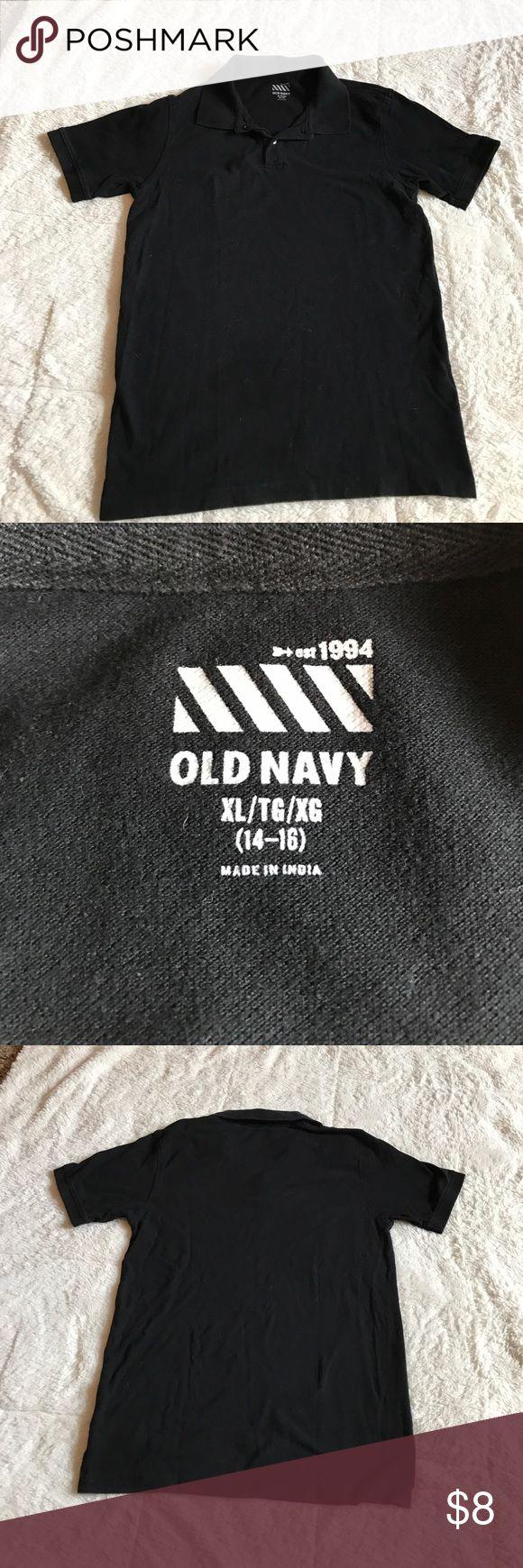 Black t shirt old navy - Boys Old Navy Polo