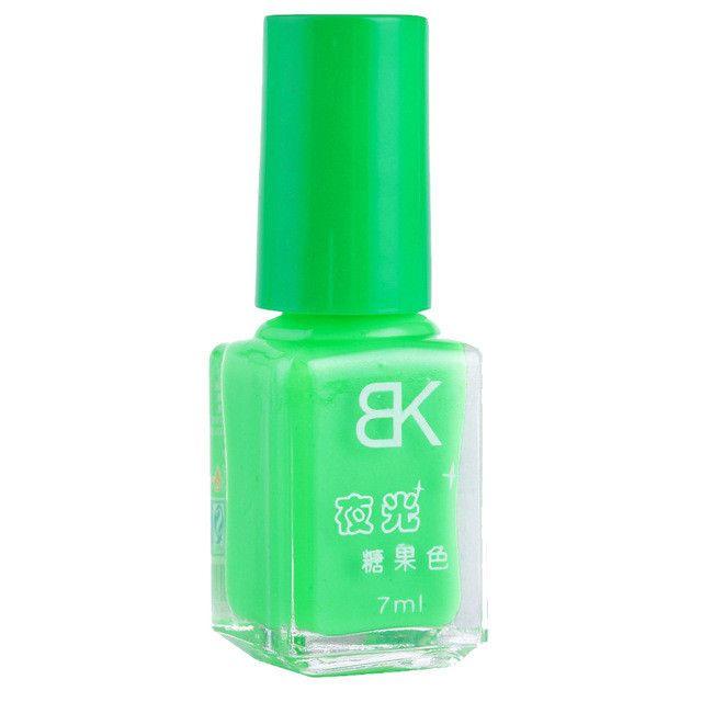 1pcs 20colors candy nail art varnish nail Lacquer neon nail lacquer, luminous fluorescent nail polish glow in the dark