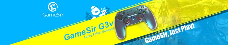 GameSir G3v Wireless Bluetooth Controller Phone Controller for iOS iPhone Android Phone TV Android BOX Tablet PC VR Games
