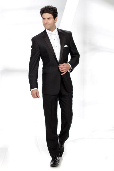 Tuxedo Junction Catalog - BLACK Tuxedo - Oleg Cassini Evening