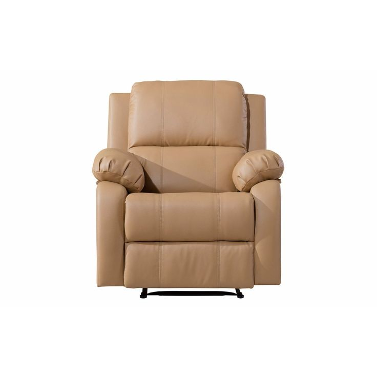 Madison Classic Bonded Leather Oversize Recliner Chair (Brown) (Fabric)  sc 1 st  Pinterest & Best 25+ Oversized recliner ideas on Pinterest | Bedroom armchair ... islam-shia.org