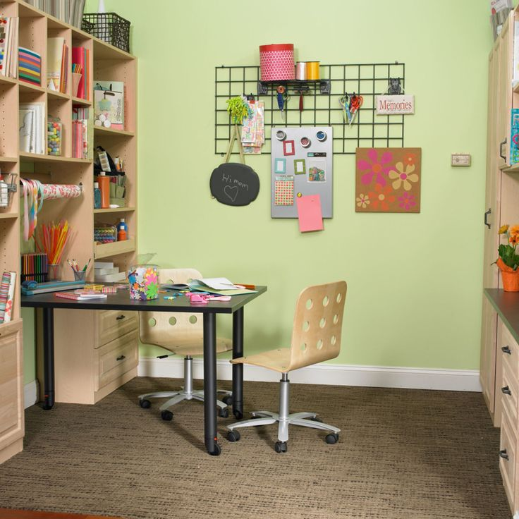 Home Office Craft Room Ideas: 140 Best ROOM: Home Office Images On Pinterest