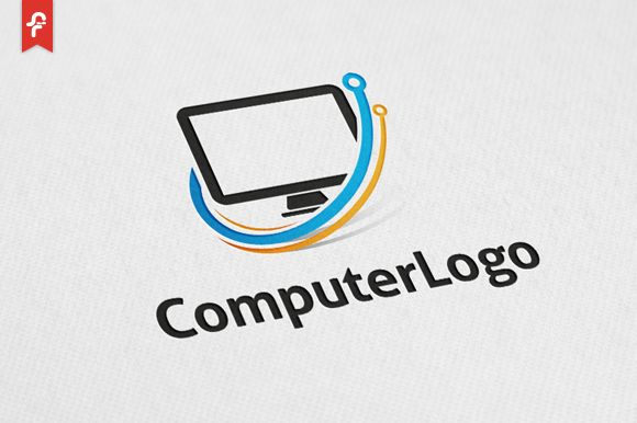 Computer Logo by ft.studio on Creative Market