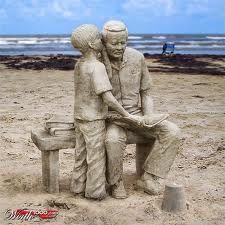 Sand  art!!: Ice Sculpture, Sands Castles, Amazing Sands, Amazing Sculpture, Art Sands, Father And Sons, Sands Sculpture, Sands Art, Sculpture Art