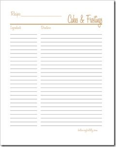 free recipe templates for binders - 40 best images about free printable recipe pages on