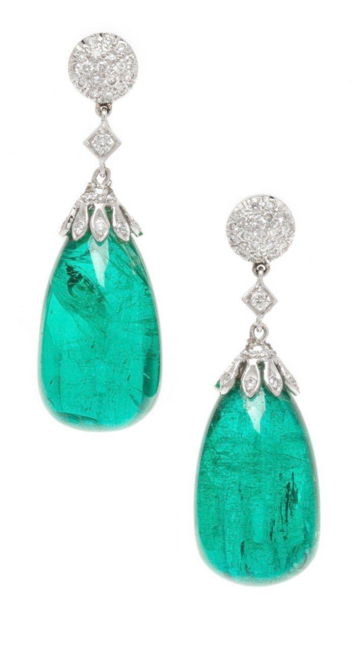 Emerald Stud Earrings 14k Gold Out Jewellery Online Mirraw Wherever Jewellery Ke Photo Emerald Earrings Jewelry Fine Earrings