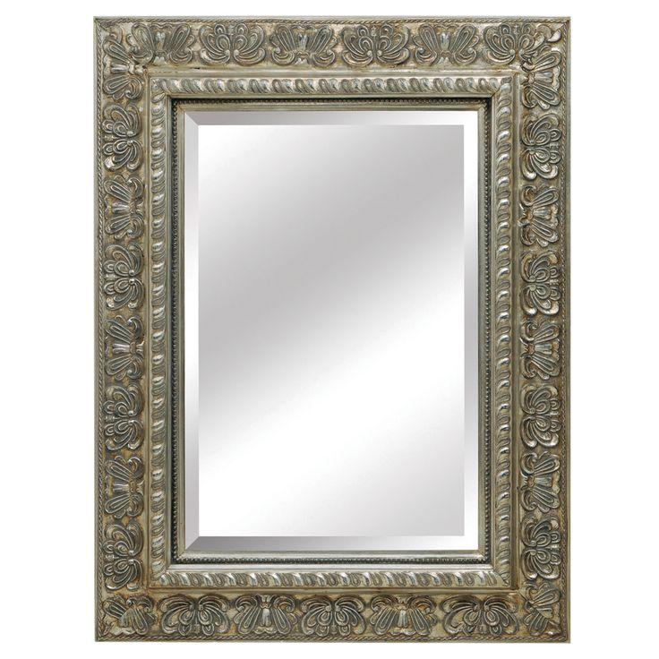 mercer antique silver mirror 40 x 52