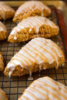 Pumpkin Scones (Starbucks Copycat) - these are my favorite Fall scones!