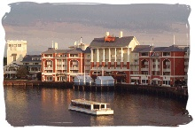 Walt Disney World Boardwalk Villas - Disney Vacation Club.  Where we own one of our timeshares!