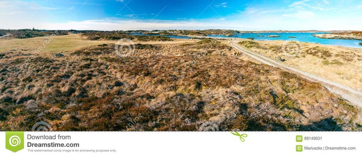 Norwegian Beach Over The Fjord - Download From Over 57 Million High Quality Stock Photos, Images, Vectors. Sign up for FREE today. Image: 89149031