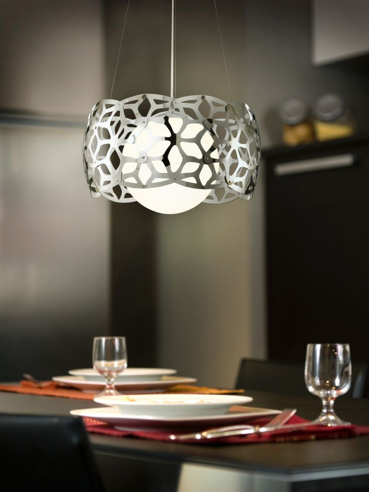 Oxana | A stylish fitting perfect for as a feature light in any home.
