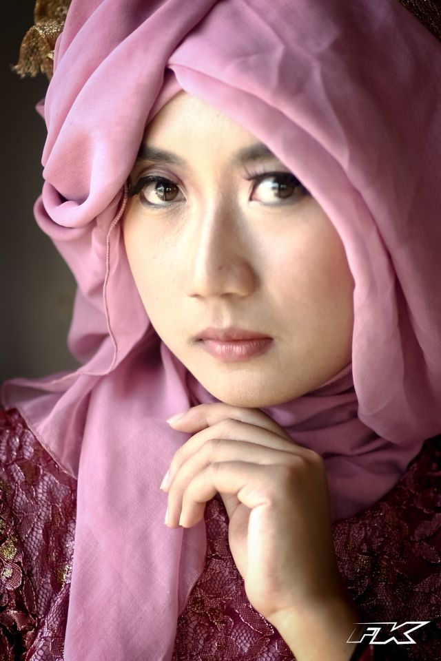 Close Up Hijab