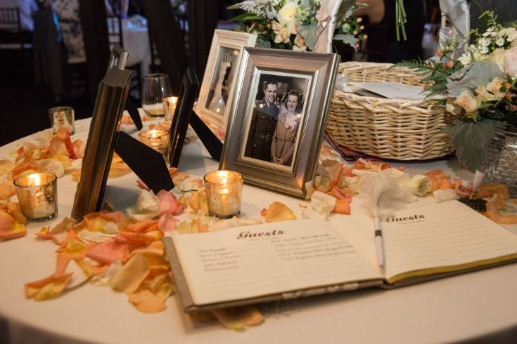 Rustic Outdoor Wedding at The Club at Hillbrook, OH  Loving this classic guestbook setup!   Photographer:  Imagine It Photography