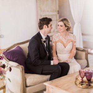 The way they look at each other 😍  Planner/Designer: @acharmingaffair  Venue: @48fields  Florist: @larkfloral  Makeup and Hair: @jdmakeupartist  Models: @kira_luca & @philipluca  Vintage Rentals: @whitegloverentals  Gown (Salon): @kandbbridals  Gown (Designer): @martinalianabridal  Bride Accessories: @fayedanieldesigns  Tux: @theblacktux . . . #styledshoot  #weddinginspiration #dcweddingphotographer #vaweddingphotographer #dmvweddingphotographer #love #gorgeouscouple #theknot #martinaliana