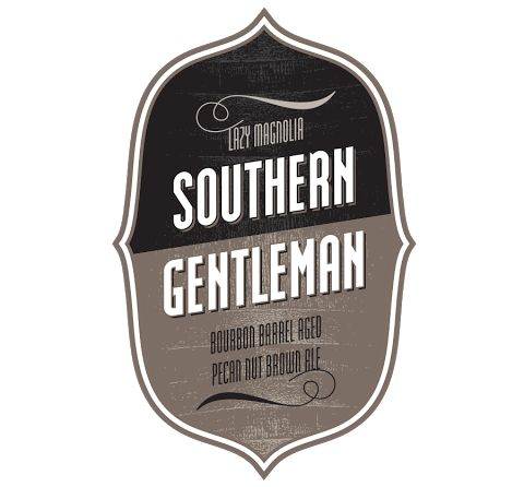 Southern Gentleman - Bourbon Barrel Aged Southern Pecan! This beer is only available in bottles - very exclusive and very limited!   #lazymagnolia