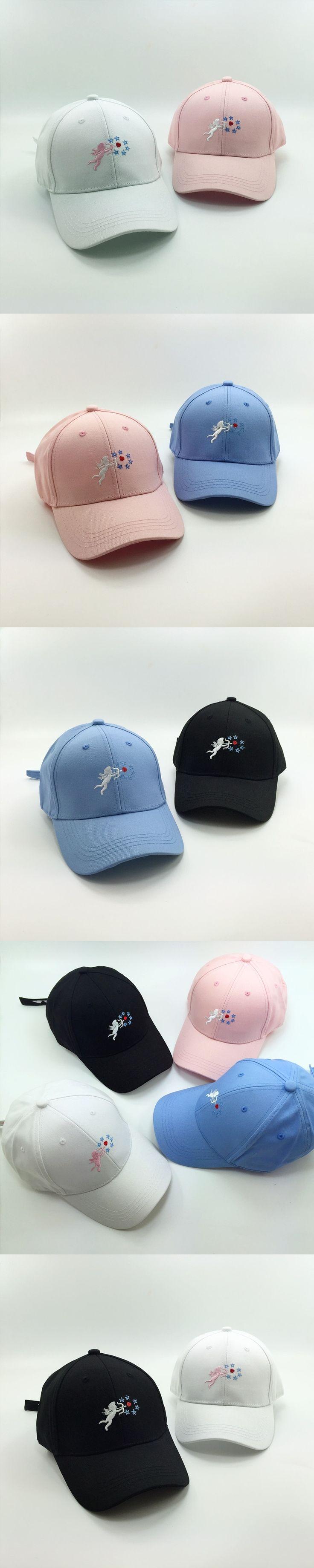 Wholesale Gorras Hip Hop 2016 Summer New Korea Ulzzang Harajuku Novelty Baseball Cap For Men And Women Lovely Pink Snapback Hats