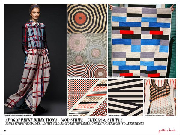 Autumn/Winter 2016/17 Print Trend Report Part 2 | Patternbank