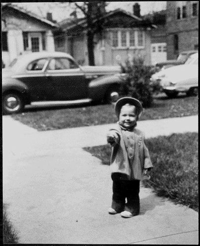 Baby Hillary, 1950.