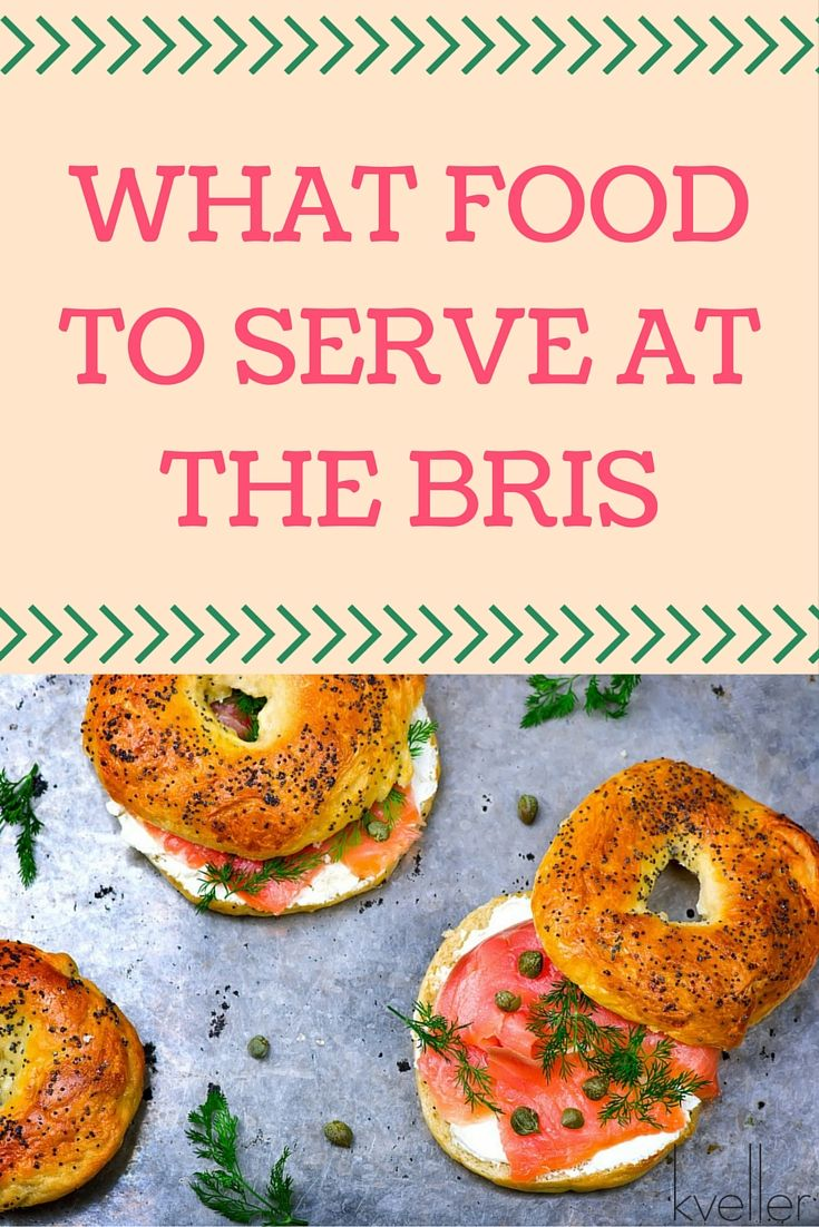You can't have a Jewish gathering without food, so find out what food to serve at the bris.