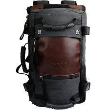 OXA Vintage Canvas Backpack Laptop Bag Computer Bag Travel Bag Duffel Bag Hiking