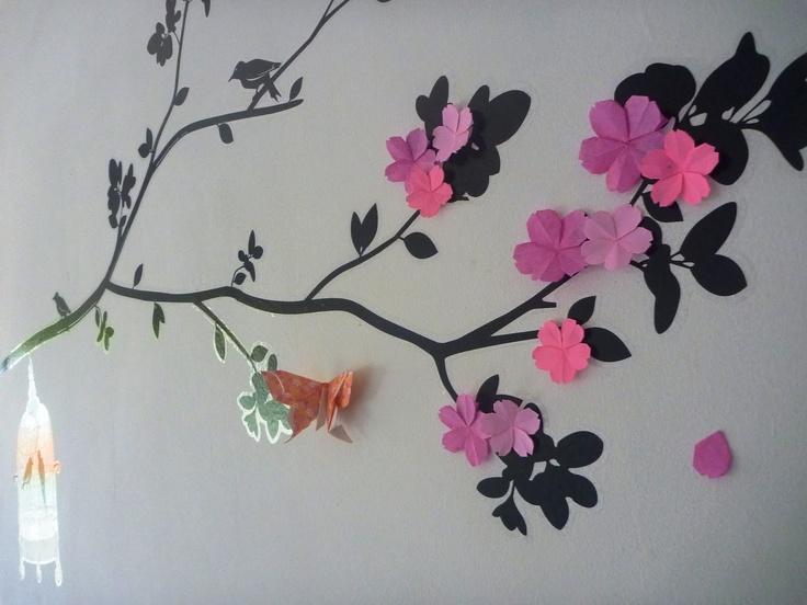 Life is like a rainbow: Origami : Sakura (continuation)