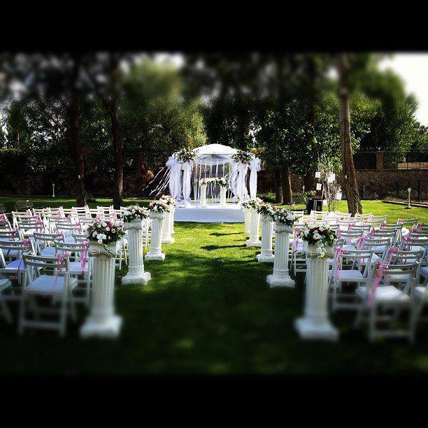 Düğün organizasyonları Yaz düğünleri Has Bahçe Ankara