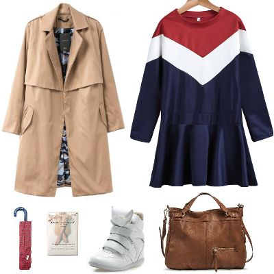 #Autumn #outfit with #sneakers #Whatowear