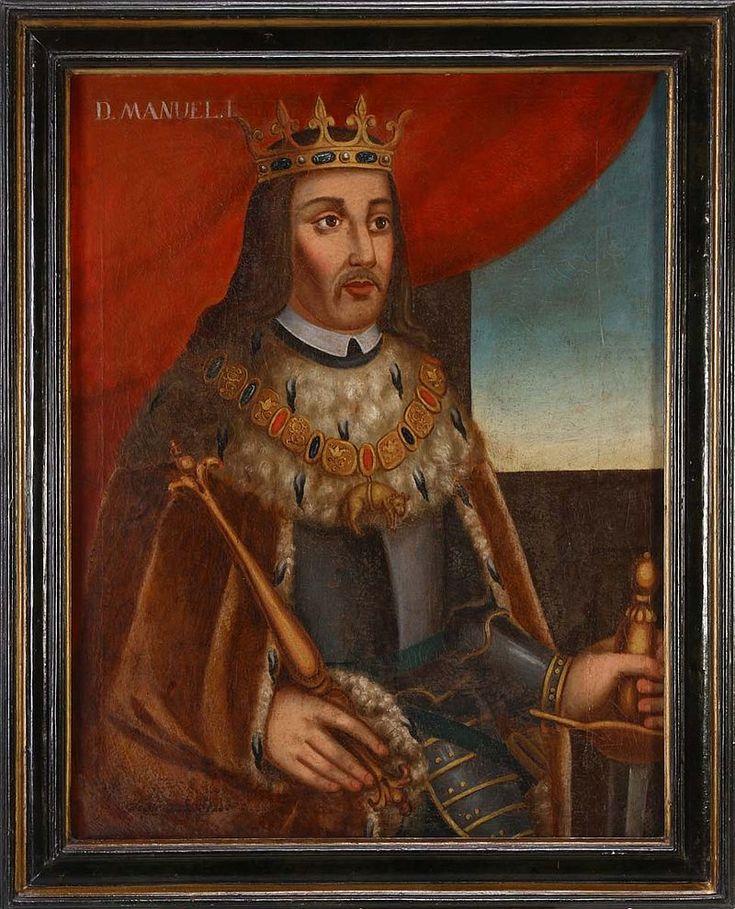 Dom Manuel I, o Bem-Aventurado ou o Afortunado,  (Alcochete, 31 de maio de 1469 – Lisboa, 13 de dezembro de 1521), Reinou 1495-1521 até à sua morte. Filhho mais novo do infante Fernando, Duque de Viseu e da infanta Beatriz de Portugal. Manuel ascendeu ao trono após a morte de seu primo o rei João II, que não tinha herdeiros legítimos e o nomeou como seu sucessor.