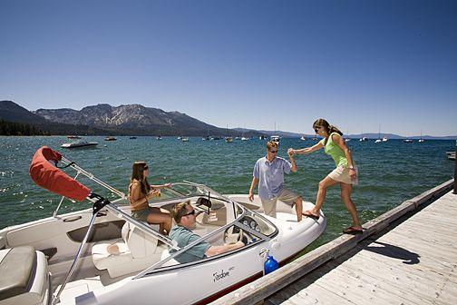 Camp Richardson in Lake Tahoe for RV parking