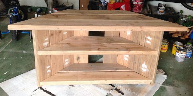 how to build a simple tv stand