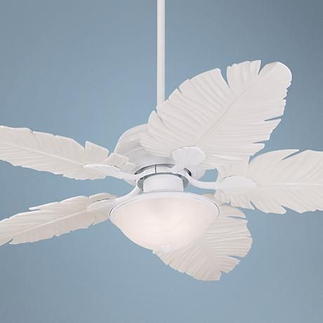 Take the tropical style to your outdoor patio or porch with this indoor/outdoor ceiling fan.