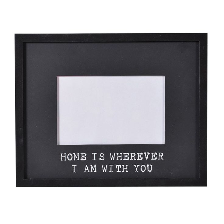 "Scottie & Russell ""Home is wherever"" frame £7.99 Free UK delivery on orders over £25.00"
