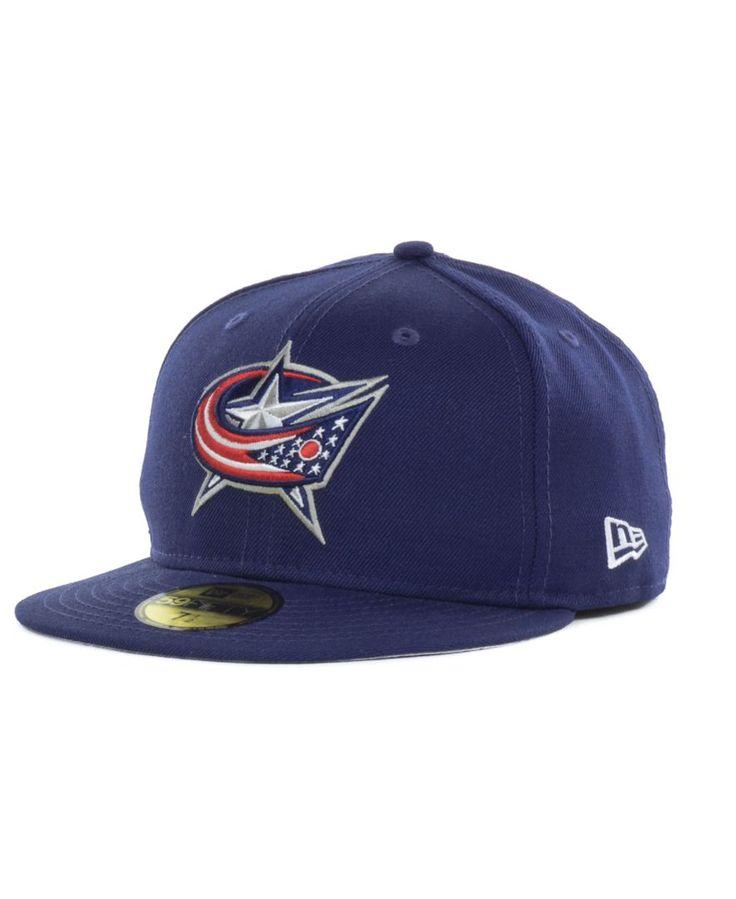 New Era Columbus Blue Jackets Basic 59fifty Cap