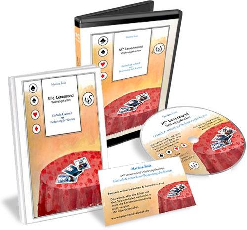 http://lenormand-ebook.de   Design für Produkt- und Verpackungsbilder, Werbematerial, Druckvorstufe