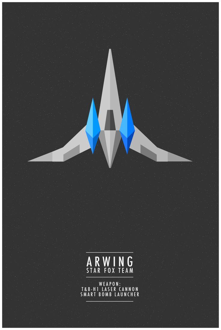 Arwing by WeaponIX.deviantart.com on @deviantART